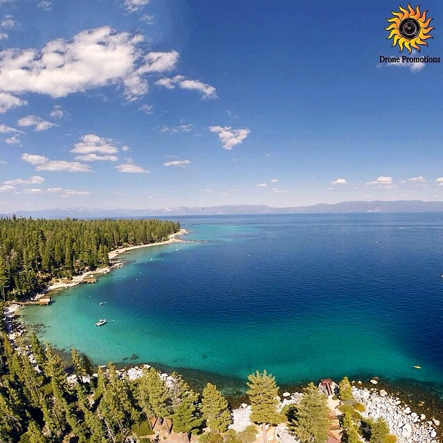 Birds Eye View :: Tahoe based company @dronepromotions has been capturing some amazing videos and stills of our beautiful lake and the surrounding landscape // Check out their latest video on our Facebook page now // #tahoemade #thisistahoe
