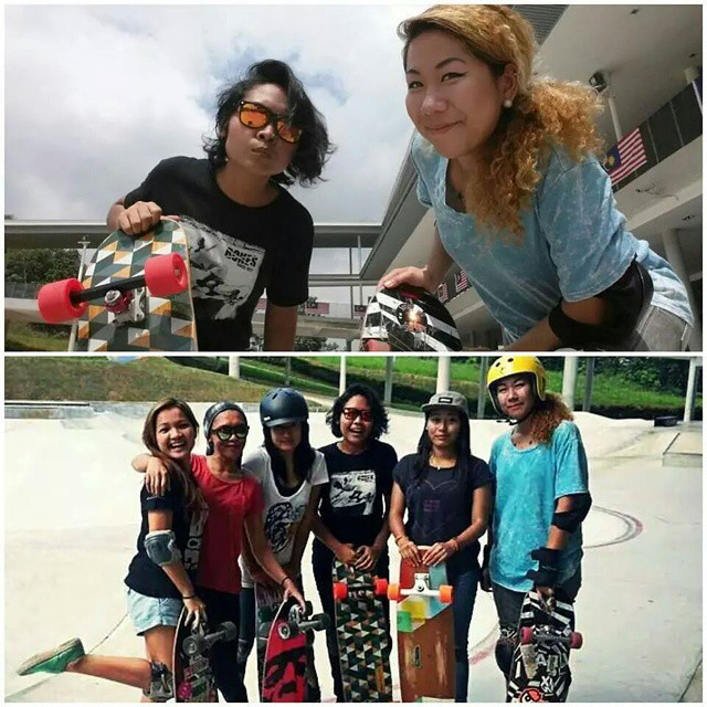 YEAH!! Longboard Girls Crew Singapore & Longboard Girls Crew Malaysia together. Love you girls!!! #longboardgirlscrew #girlswhoshred