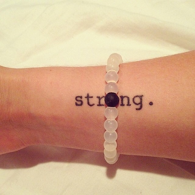 You are stronger than you think. #livelokai #TBT