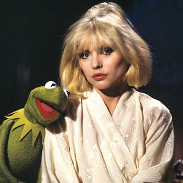 Collaboration as part of the creative process #debbieharry #kermit