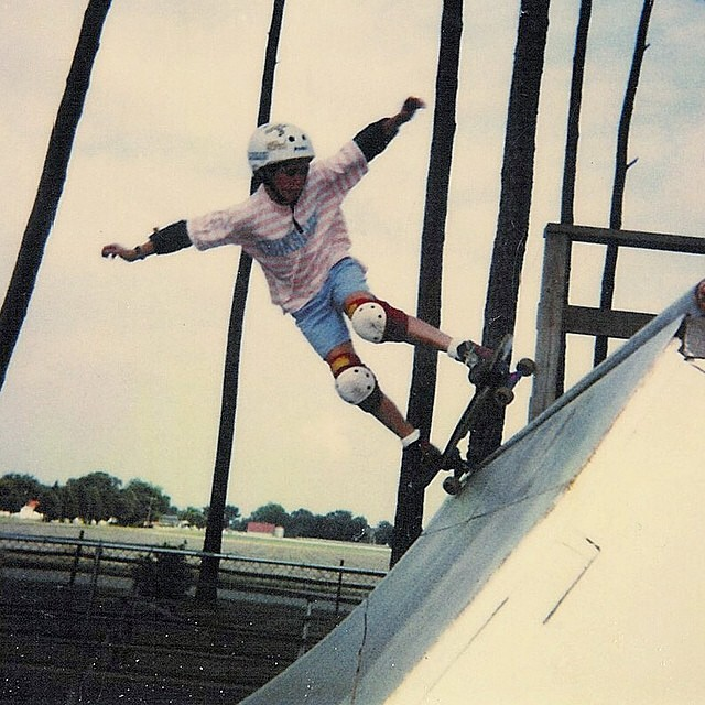 Mimi Knoop (@knoopdogg). Virginia Beach circa 1990. #tbt #throwbackthursday