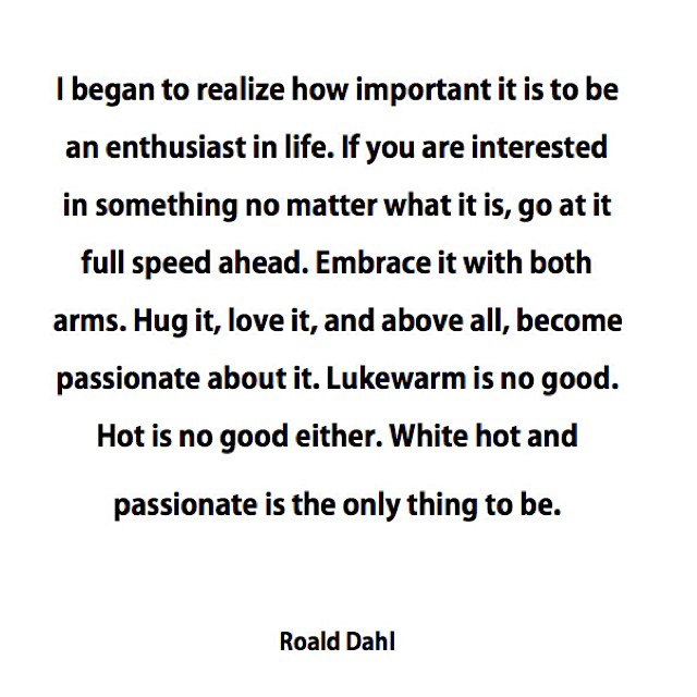 White hot wisdom #bepassionate