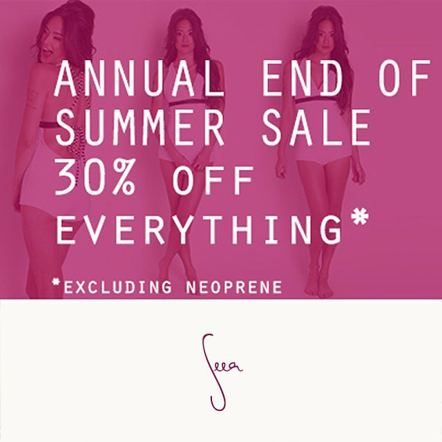 It's here! Our biggest sale of the year happening now! go to theseea.com link in profile for a shopping high