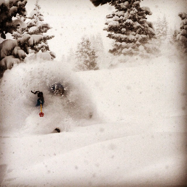 It's a #whiteroom kind of a day, at least mentally. Enjoy the long weekend. #embracetheatorm