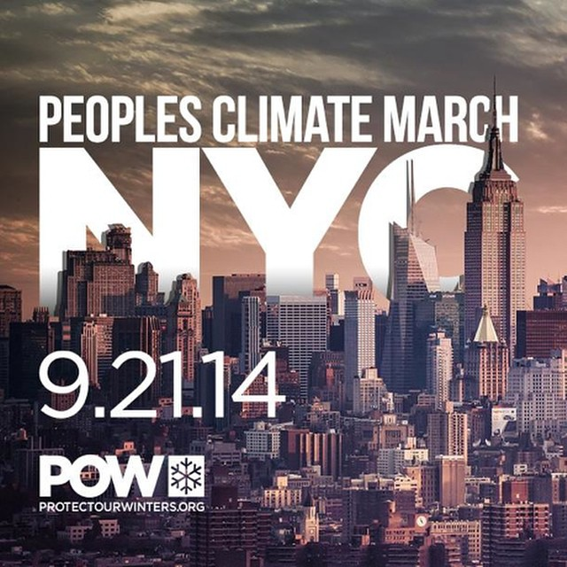 "Is Climate Change ""irreversible?"" Join Protect Our Winters on Sept. 21st in NYC for the #PeoplesClimateMarch. If a non-binding treaty is the best we can expect from our politicians, it's time to start the ""Big Movement."" To sign up for #POW updates..."