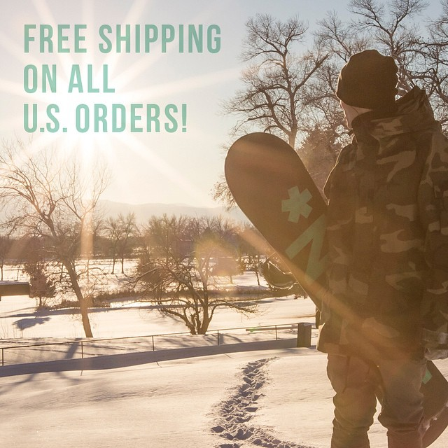 Happy Labor Day to you! Enjoy free shipping on all products until September 3. @jordanpay #nichesnowboards