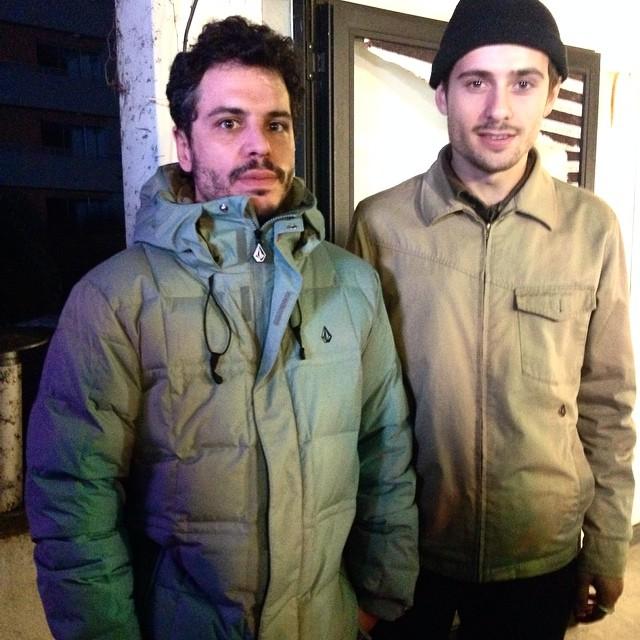 @juanbacagianis + @santiagorossi  #VeecoParty #volcomfamily