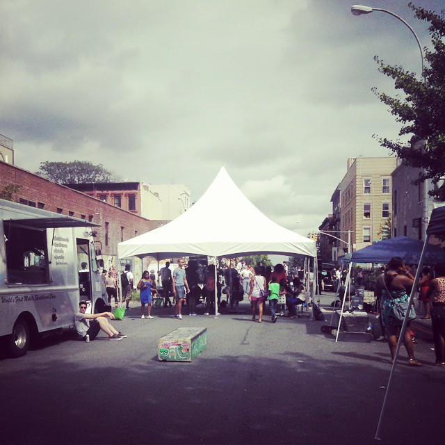 #gronyc #grotomboi at Bklyn Bazaar.  Come skate at Lexington and grand in Brooklyn