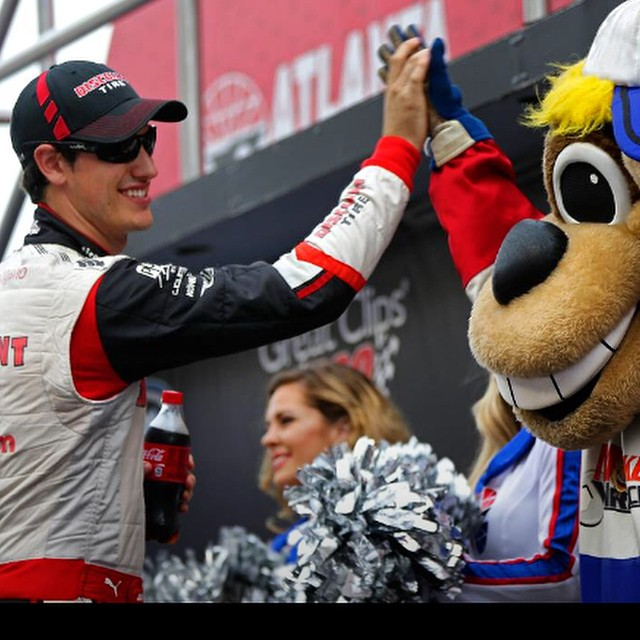 Best of luck to @joeylogano today at Atlanta Motor Speedway | Four wins would be huge going into the Chase,