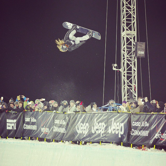 In 2012, @shaunwhite kept it