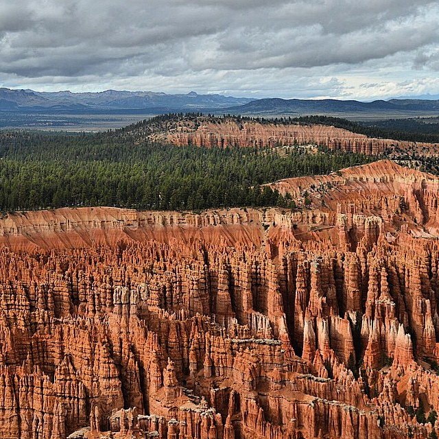 Unreal. Inspiration Point #brycecanyon  #radparks shot by @joepud #leaveitbetterthanyoufoundit