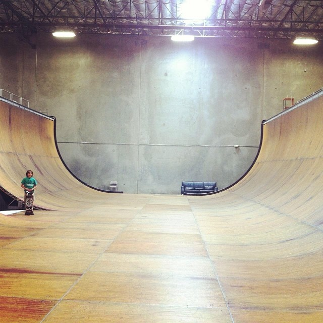 Epic session today! Big thanks to @staabpirate1 for skating with  @Asher_bradshaw. #skateboarding #happybirthday Asher!
