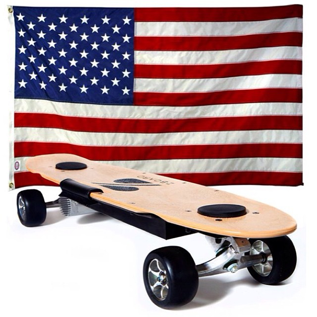 Proudly built in the USA. #zboard #laborday