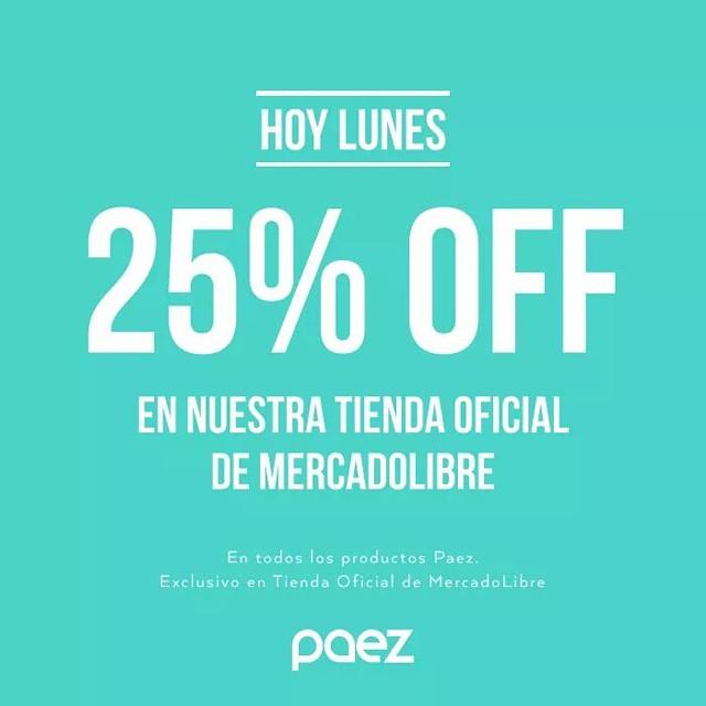 Solo por hoy! Nos sumamos a los festejos de #MercadoLibre en nuestra Tienda Oficial! #paezshoes #FeluzCumpleañosMeLi
