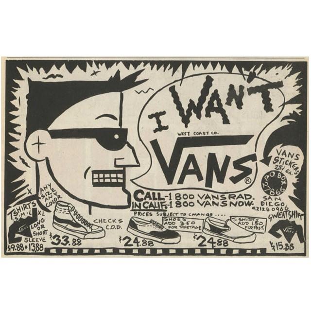 Aviso Vans #retro #quieroVans