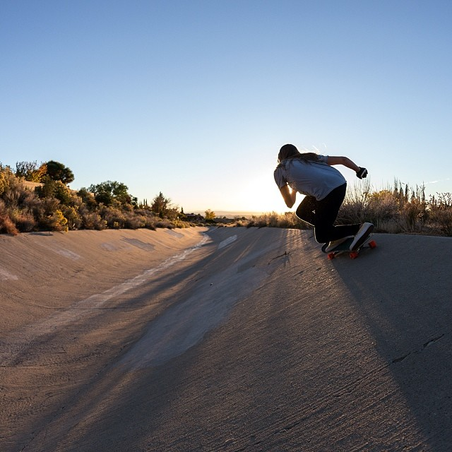 Our lovely LGC #Canada @manolitamade having fun in a #ditch somewhere in America. Have a great weekend everyone!