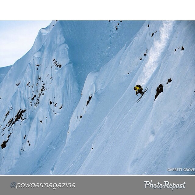 "#Regram from @powdermagazine: ""Happy Labor Day to our American followers. @pierssolomon enjoys the day off in Haines, Alaska. PHOTO: @garrettgrove #PhotoOfTheDay"" #dpsskis #skiing"