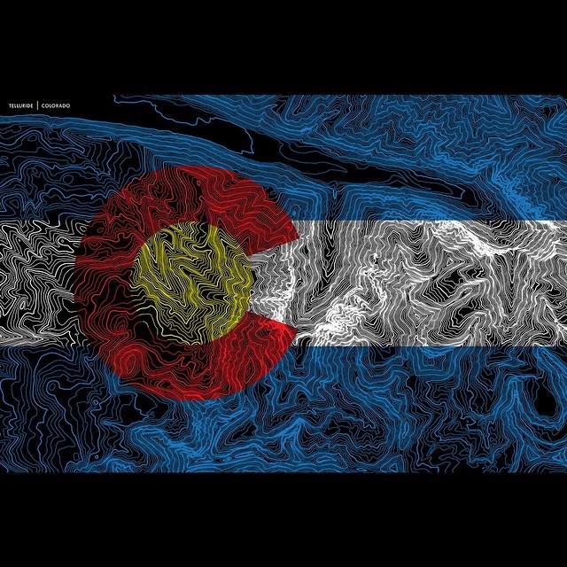 #telluride #colorado #topography #kinddesign #liveyourdream