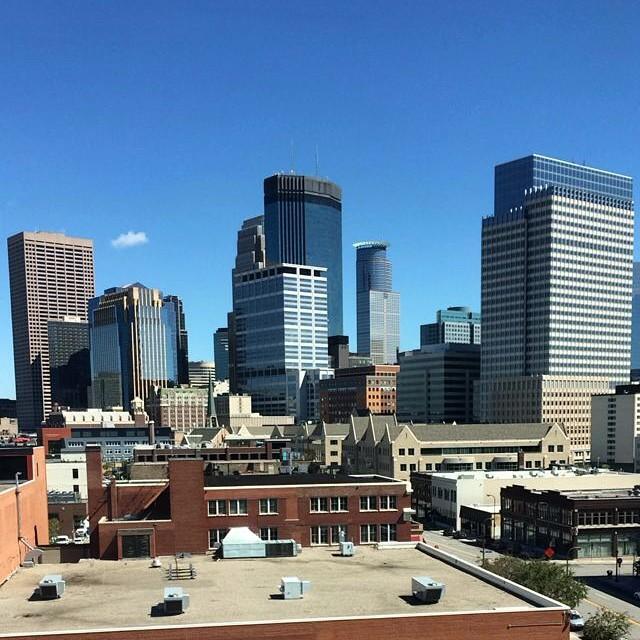 Beautiful day in #Minneapolis