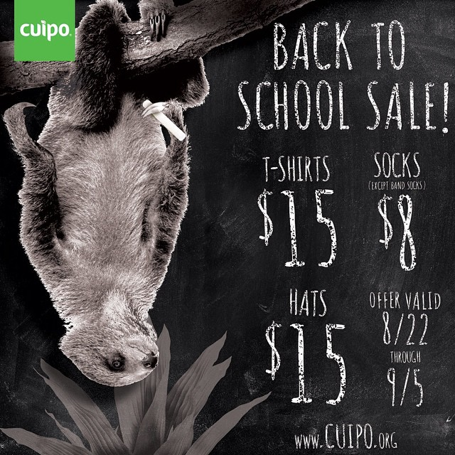 Don't let these savings swing away from you...sale ends this Friday!! #BacktoSchool #SaveRainforest
