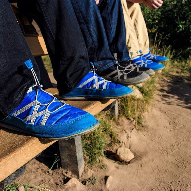 Pakems make the perfect camp shoe! #PakemsInAction #Aspen #Colorado