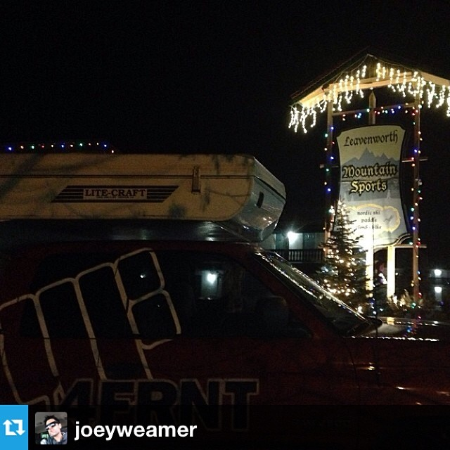 #Repost from @joeyweamer hanging out at Leavenworth Mtn Sports in Bavaria America, Leavenworth Washington.