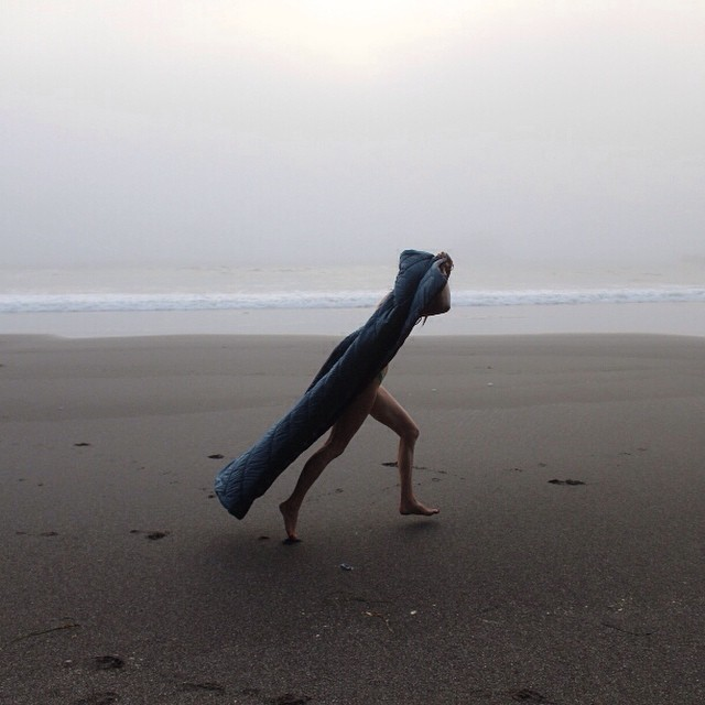 Always run free, and whenever possible, run naked... #gorumpl #naked #fog #free #streaker #legs #wahoo!