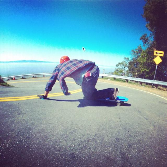 @malachigreene_  wears the S1 Lifer Helmet . #skateboarding #downhill #helmet #skatehelmet #cloudline