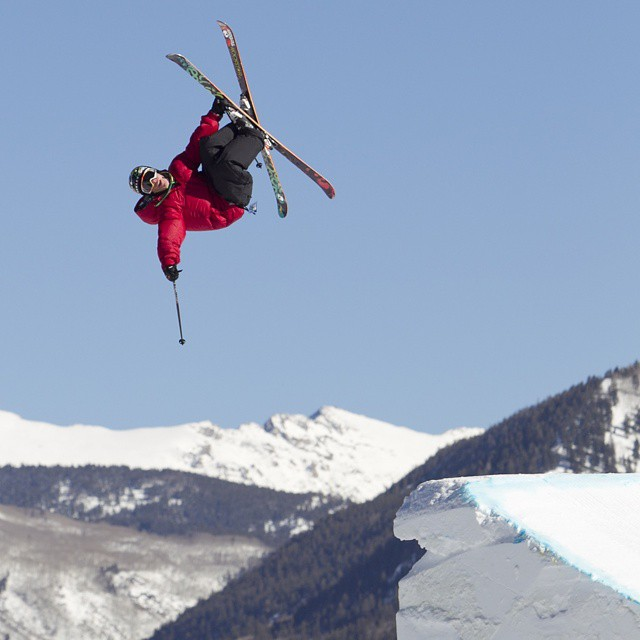 #TBT - In 2011, @sammycski took home X Games Slopestyle gold.  Today, he is one of seven freestyle skiers chasing the #RealSki title. (Photo via @espn_images)