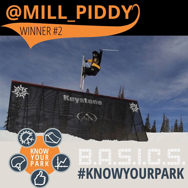 The SEPT #knowyourpark CHAMP is here! Way to go @mill_piddy! Email us (info@highfivesfoundation.com) with your name and address to claim your new @volklskis & @pocsports prize pack! Keep using #knowyourpark for another chance to WIN BIG! Next winner...