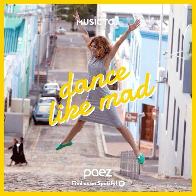 Our Graphic Designer, Belu,felt inspired! is thursday, nice day to go out! http://bit.ly/PaezTeamPlaylistDance #wemusic #paezteam #paezshoes