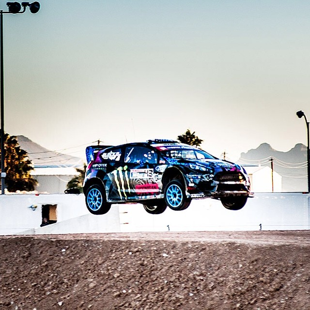 @kblock43 is back at it with Gymkhana 6. Check the latest video at Xgames.com. (Photo @lanced )