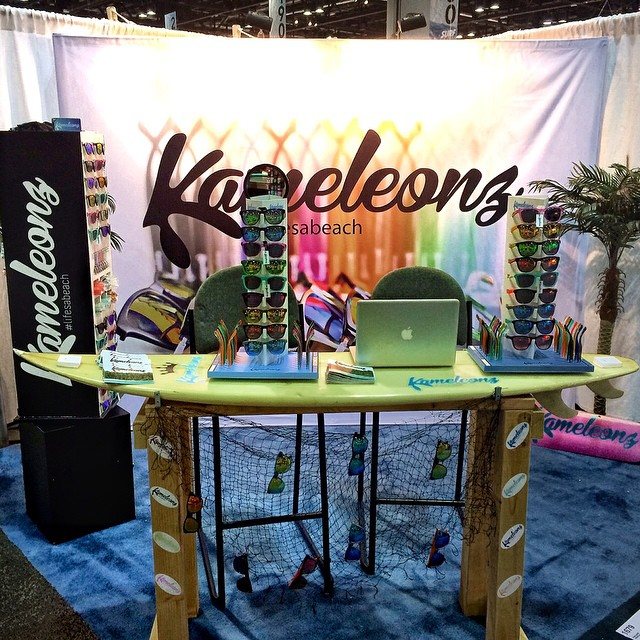 If you're in the area, come see us at Surf Expo in Orlando. Booth 1679. #kameleonz #lifesabeach #SurfExpo