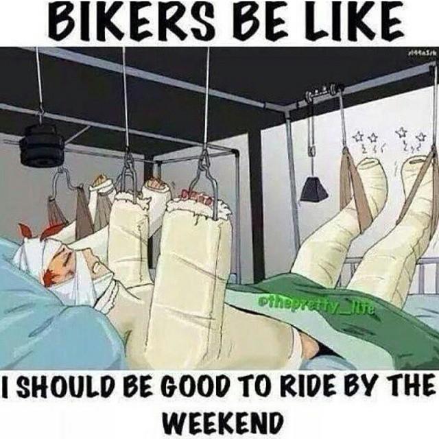 Damn right! #tgif #weekend #rideon #boombotix