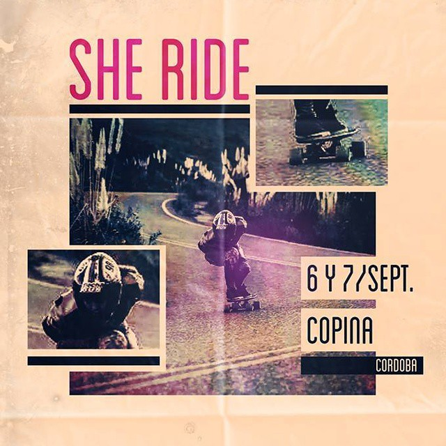 "Go to www.longboardgirlscrew.com and check the ""Copina She Ride"" this weekend in Córdoba, Argentina. Have fun girls! #lgcargentina. #longboardgirlscrew #girlswhoshred"