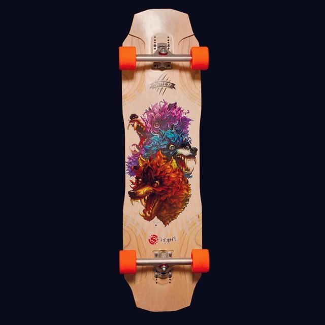 New baby #originalskateboards #original #longboard #longboarding #baffle #baffle37 #calibertruck #orangatang #golongboard puta de mierda ❤❤❤