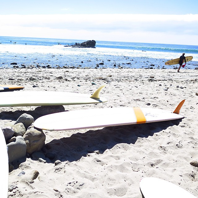 ~Not a bad weekend to be in #SoCal ~ #HotlineWetsuits #EndofSummerSwell