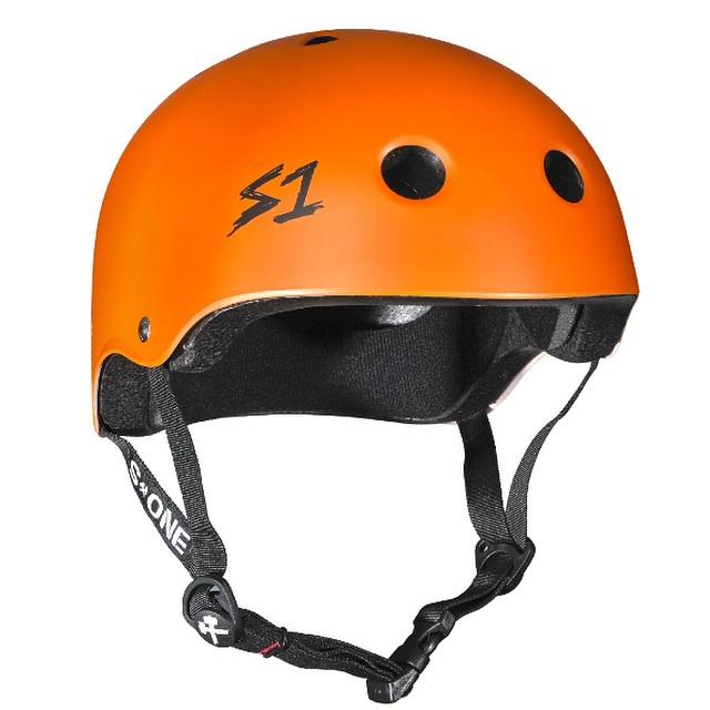 S1 Lifer Helmet Color: Bright Orange #skatehelmet #certified #multipleimpact #certified #highimpact #helmet #s1helmets #lifer