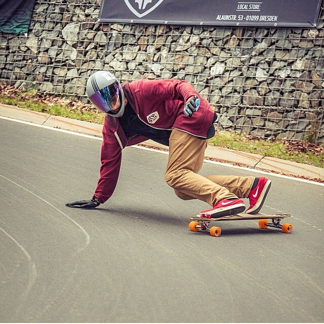 @sasstom looking fresh and focused going for a predrift making sure the hill has the proper scent #staysteez #keepitholesom
