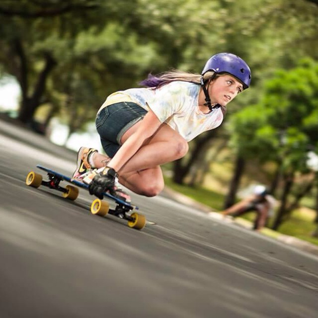 Our girl @rachel_rayne is back and recovered from her hand injury. Stoked to see you back on board buddy! Aria Pramesi photo #longboardgirlscrew #girlswhoshred #paytoplay
