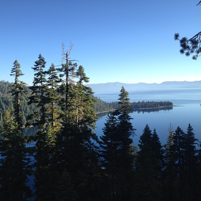 Getting inspired #emeraldbay #morninghike #tahoe #laketahoe #exploremore