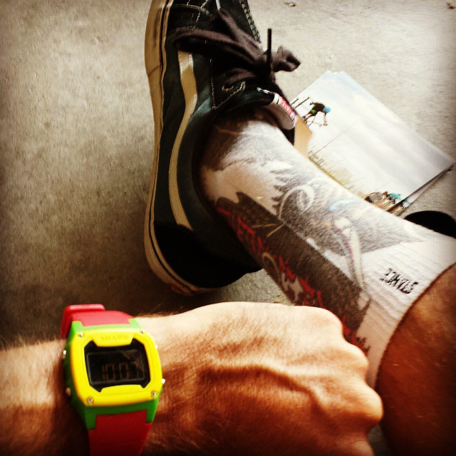 Time to un-retire.  #stancesocks #vansave #myfreestylewatch