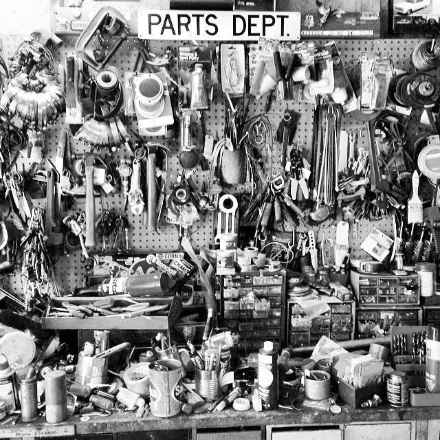 #partsdepartment whattdaya need?