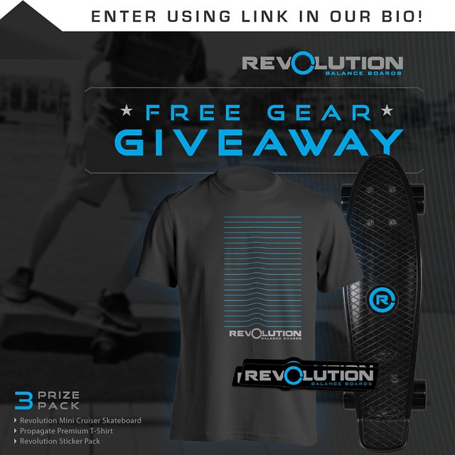 Hey everybody, we are starting up a brand new #giveaway for all of our followers! We want to give back to all of our supporters, without you none of this would be possible. -------------------------------------------- Win A FREE Revolution Gear Pack •...