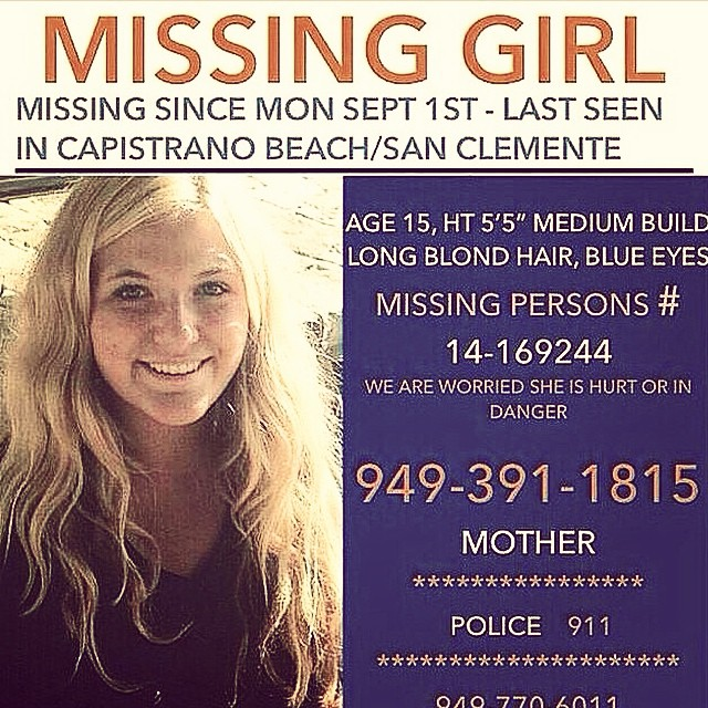 "Please repost this. I, like you, have never met this young lady, but it is free to help find her. Someone through you could lead to her. ""Together we are a force, and everything is possible if we attempt it"" -Willy Rodriguez @versoterso #911..."