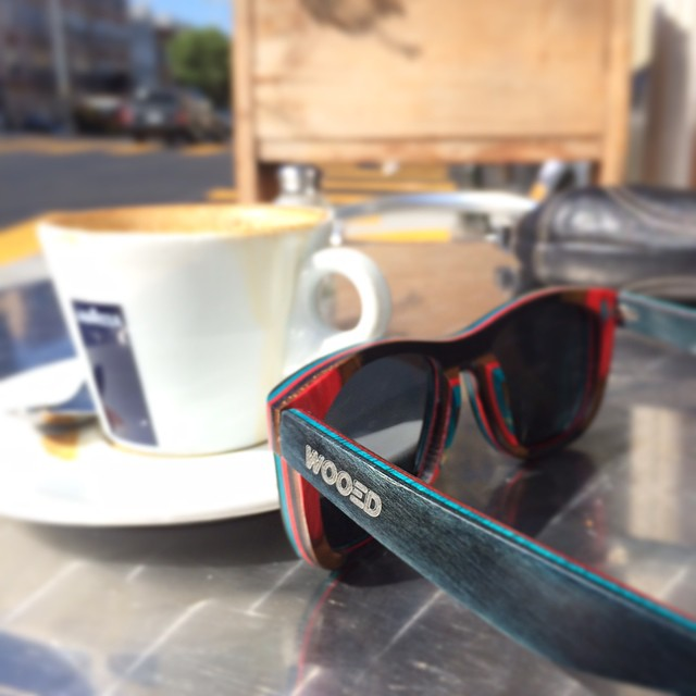 Who's enjoying an afternoon drink in the sun? #wooedbywood #sfmade