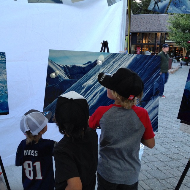 The next generation getting inspired @andrew_miller @curleyphotos @asymbol #HigherGallery #JJonesHigher #Groms #snowboarding #squawvalley #backcountry #exploremore #skiporn #winteriscoming