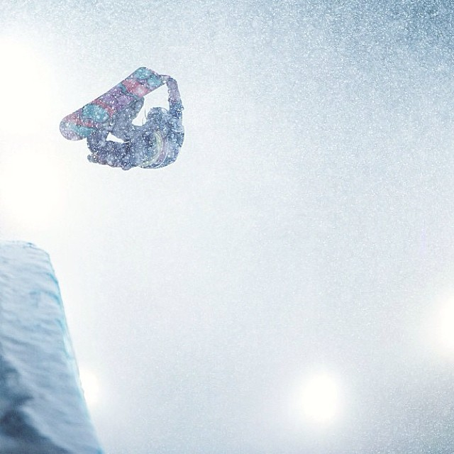 Let it snow #xgames (Photo @blackcollarworker )