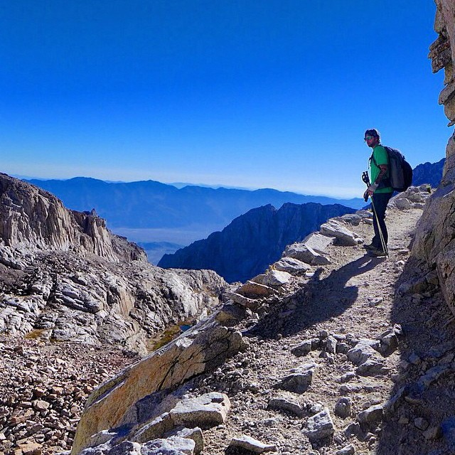 #radparks shot from our friend and fellow park ambassador @gabriel_artist / 99 switchbacks  #mtwhitney #easternsierras