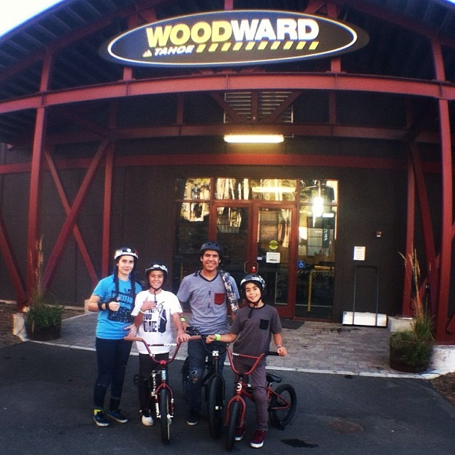 #fdvclothing shredding @woodwardtahoe all weekend! Good times with the homies! #bmx #woodwardtahoe #bmxfam